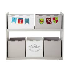 banc chambre enfant banc de rangement chambre enfant 3 cases blanc decome store avec
