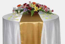 table runner rentals table runners satin table runner rentals 3 00 ny chair covers