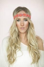 bohemian hair accessories bohemian headband coral beaded boho hair band anti slip