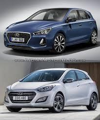 2017 hyundai i30 vs 2015 hyundai i30 in images