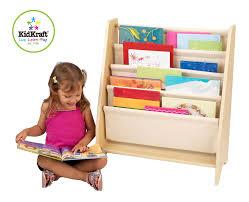 Ark Bookshelf by Amazon Com Kidkraft Sling Bookshelf Natural Toys U0026 Games