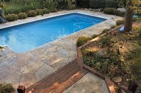 fine design pool decking options best pool deck materials guide