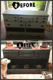 dresser to dog food station diy diy dresser everything about