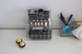 how to recycle chocolates u0027 containers to organize your make up