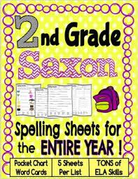 second grade saxon spelling worksheets grade spelling 2nd grade