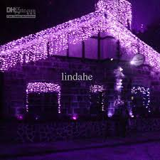 cheap 6x1m 256 purple led curtain light for or wedding