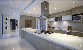 modern island kitchen designs modern island kitchen design using frosted glass home design