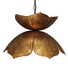 decoration in lotus pendant light with home decorating ideas capiz