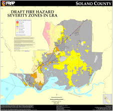 solano county map cal solano county fhsz map