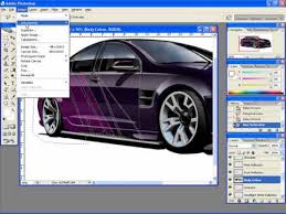 car wrapping design software adding graphics to a car rendering in photoshop
