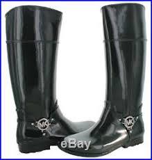 womens rubber boots size 9 boots michael kors shoes