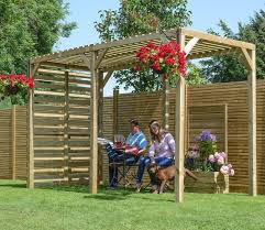 Span Tables For Pergolas by Urban Timber Garden Pergola Gardensite Co Uk
