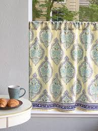 Toile Cafe Curtains Kitchen Curtains Cafe Curtains Tiers Window Treatment Saffron