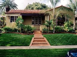 spanish style home landscaping ideas house design plans