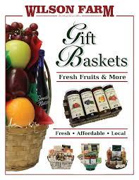 thanksgiving food gift baskets wilson farm fruit u0026 gift baskets