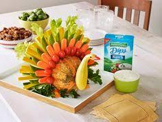 turkey veggie platter pinteres