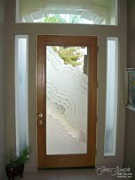 Frosted Glass Exterior Doors Easylovely Frosted Glass Exterior Door On Home Decor Ideas