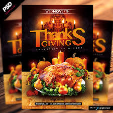 thanksgiving 2014 dinner flyer template dope downloads