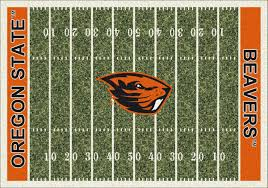 butterfly area rugs state beavers home field area rug football logo