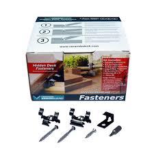 hidden deck fasteners deck hardware the home depot