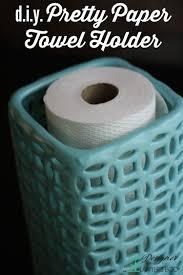 Kitchen Towel Craft Ideas Diy Paper Towel Holder Easiest Project Ever More Best Paper