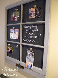 Lowes Interior Paint by Decor U0026 Tips Repurposing Window Frame Into Magnetic Chalkboard