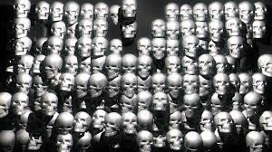 halloween video loop for window projection skull extrude full hd vj loop limeart halloween horror visuals