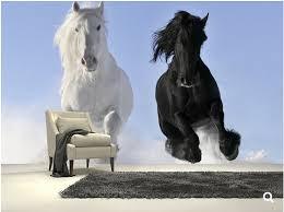 papier peint chevaux pour chambre personnalisé enfants papier peint chambres de chevaux dans la