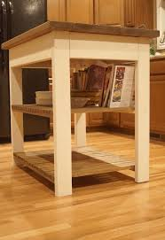 build your own butcher block kitchen island furniture plans