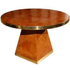burl wood dining room table pierre cardin burlwood dining table pierre cardin decorative