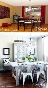Easy And BudgetFriendly Dining Room Makeover Ideas Hative - Dining room makeover pictures
