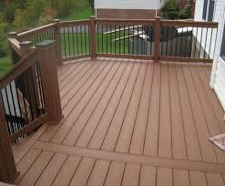 wood railing designs for decks u2014 unique hardscape design the