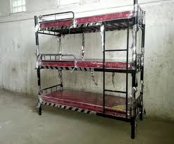 3 Tier Bunk Bed Oliver 3 Tier Bunk Bed Rs 16000 Set Oliver Metal Furniture Id