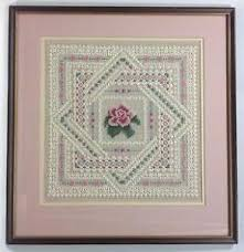framed cross stitch ebay
