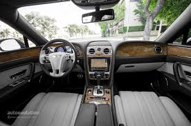 bentley continental flying spur interior 2014 bentley flying spur review autoevolution
