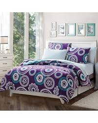 shopping special malibu bed in a bag set purple size