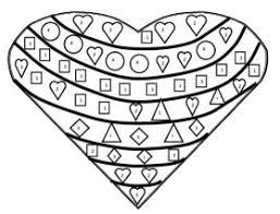 coeur coloriage magique