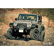 modified jeep wrangler yj rugged ridge 11540 18 rrc mount xhd modular front bumper 76 15