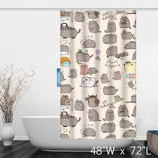 funny cute lovely cats bathroom shower curtain custom shower