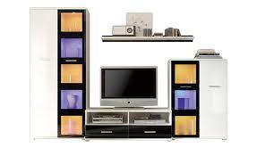 Wohnzimmerschrank Folieren Wohnwand Weiß Sconto Der Möbelmarkt