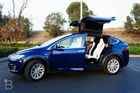 suv tesla blue how does the tesla model x hold up after one month