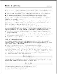Senior Sales Executive Resume Samples Senior Executive Resume Sles 28 Images Marketing Sales