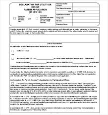 patent application template u2013 12 free word pdf documents