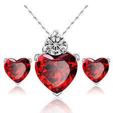 diamond necklace red images Cheap diamond necklace jewellery find diamond necklace jewellery jpg