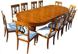 Esszimmertisch Rund Antik Biedermeier Möbel
