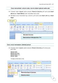 membuat novel di ms word nota microsoft word 2007
