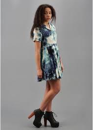 evil twin dry lightning dress blue ss13