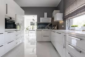 white contemporary kitchen cabinets gloss 28 modern white kitchen design ideas photos designing idea