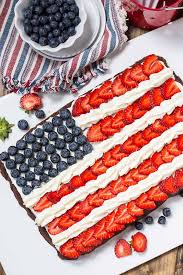 Flag Fruit Cake 27 Easy 4th Of July Desserts Red White And Blue Recipes For