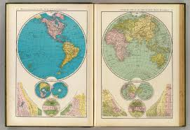 World Map With Hemispheres by Mapping The New Isolationism America First Musings On Maps